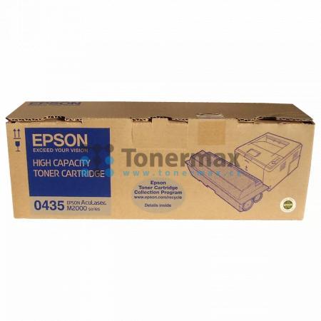 Epson S050435, C13S050435, originální toner pro tiskárny Epson AcuLaser M2000D, AcuLaser M2000DN, AcuLaser M2000DT, AcuLaser M2000DTN