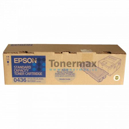 Epson S050436, C13S050436, originální toner pro tiskárny Epson AcuLaser M2000D, AcuLaser M2000DN, AcuLaser M2000DT, AcuLaser M2000DTN
