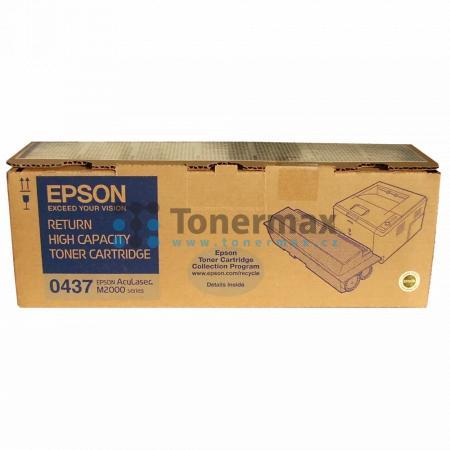 Epson S050437, C13S050437, return, originální toner pro tiskárny Epson AcuLaser M2000D, AcuLaser M2000DN, AcuLaser M2000DT, AcuLaser M2000DTN