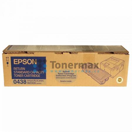 Epson S050438, C13S050438, return, originální toner pro tiskárny Epson AcuLaser M2000D, AcuLaser M2000DN, AcuLaser M2000DT, AcuLaser M2000DTN