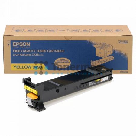Epson S050490, C13S050490, originální toner pro tiskárny Epson AcuLaser CX28, AcuLaser CX28DN, AcuLaser CX28DNC, AcuLaser CX28DTN, AcuLaser CX28DTNC
