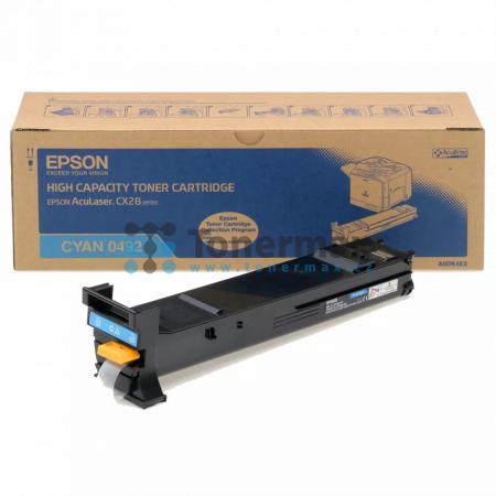 Epson S050492, C13S050492, originální toner pro tiskárny Epson AcuLaser CX28, AcuLaser CX28DN, AcuLaser CX28DNC, AcuLaser CX28DTN, AcuLaser CX28DTNC