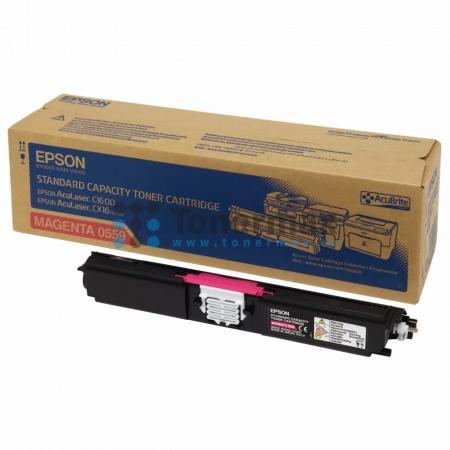 Epson S050559, C13S050559, originální toner pro tiskárny Epson AcuLaser C1600, AcuLaser CX16, AcuLaser CX16DNF, AcuLaser CX16DTNF, AcuLaser CX16NF