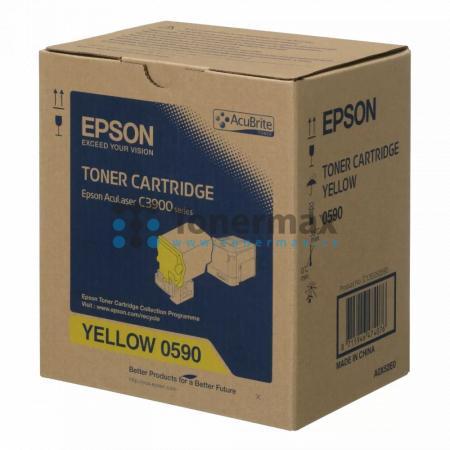 Epson S050590, C13S050590, originální toner pro tiskárny Epson AcuLaser C3900DN, AcuLaser C3900DTN, AcuLaser C3900N, AcuLaser C3900TN, AcuLaser CX37DN, AcuLaser CX37DNF, AcuLaser CX37DTN, AcuLaser CX37DTNF