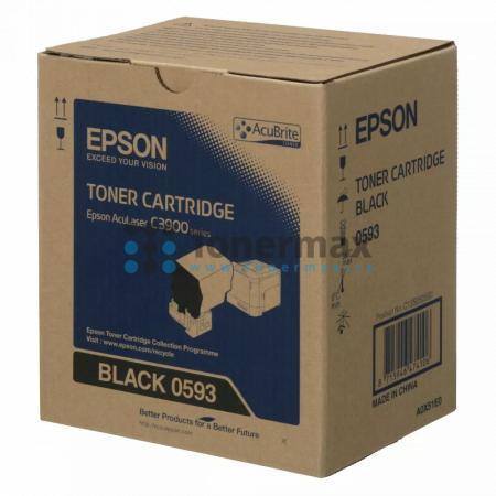 Epson S050593, C13S050593, originální toner pro tiskárny Epson AcuLaser C3900DN, AcuLaser C3900DTN, AcuLaser C3900N, AcuLaser C3900TN, AcuLaser CX37DN, AcuLaser CX37DNF, AcuLaser CX37DTN, AcuLaser CX37DTNF