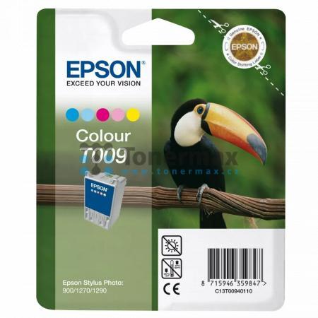 Epson T009, C13T00940110, originální cartridge pro tiskárny Epson Stylus Photo 900, Stylus Photo 1270, Stylus Photo 1290, Stylus Photo 1290S