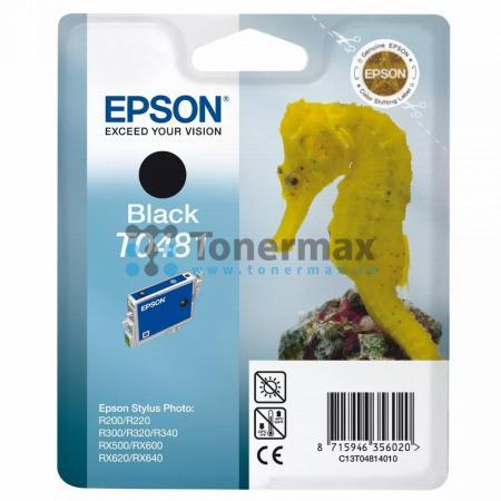 Epson T0481, C13T04814010, originální cartridge pro tiskárny Epson Stylus Photo R200, Stylus Photo R220, Stylus Photo R300, Stylus Photo R320, Stylus Photo R340, Stylus Photo RX500, Stylus Photo RX600, Stylus Photo RX620, Stylus Photo RX640