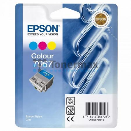 Epson T067, C13T06704010, originální cartridge pro tiskárny Epson Stylus C48