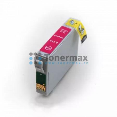 Epson T0713, C13T07134011, kompatibilní cartridge pro tiskárny Epson Stylus D78, Stylus D92, Stylus D120, Stylus DX4000, Stylus DX4050, Stylus DX4400, Stylus DX4450, Stylus DX5000, Stylus DX5050, Stylus DX6000, Stylus DX6050, Stylus DX7000F, Stylus DX7400