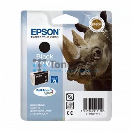 Epson T1001, C13T10014010, originální cartridge pro tiskárny Epson Stylus Office B40W, Stylus Office BX600FW, Stylus Office BX610FW, Stylus SX510W, Stylus SX515W, Stylus SX600FW, Stylus SX610FW