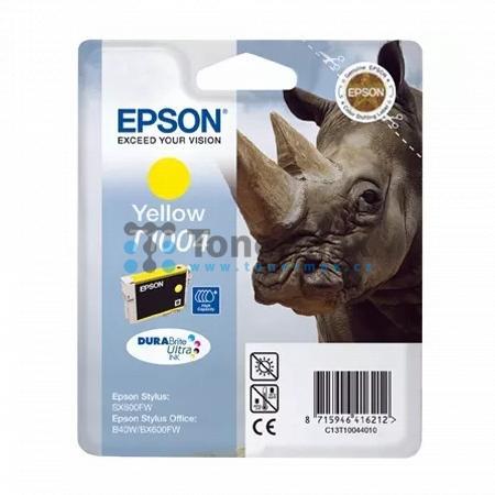 Epson T1004, C13T10044010, originální cartridge pro tiskárny Epson Stylus Office B40W, Stylus Office B1100, Stylus Office BX310FN, Stylus Office BX600FW, Stylus Office BX610FW, Stylus SX510W, Stylus SX515W, Stylus SX600FW, Stylus SX610FW