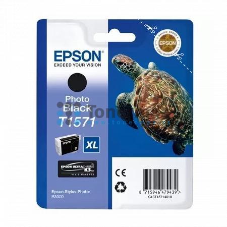 Epson T1571, C13T15714010, originální cartridge pro tiskárny Epson Stylus Photo R3000