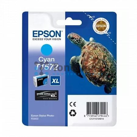 Epson T1572, C13T15724010, originální cartridge pro tiskárny Epson Stylus Photo R3000