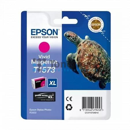 Epson T1573, C13T15734010, originální cartridge pro tiskárny Epson Stylus Photo R3000
