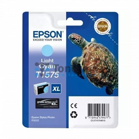 Epson T1575, C13T15754010, originální cartridge pro tiskárny Epson Stylus Photo R3000