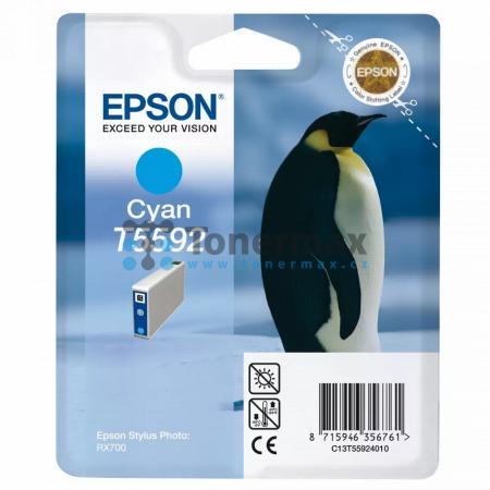 Epson T5592, C13T55924010, originální cartridge pro tiskárny Epson Stylus Photo RX700