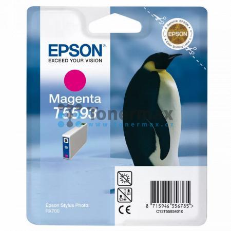 Epson T5593, C13T55934010, originální cartridge pro tiskárny Epson Stylus Photo RX700
