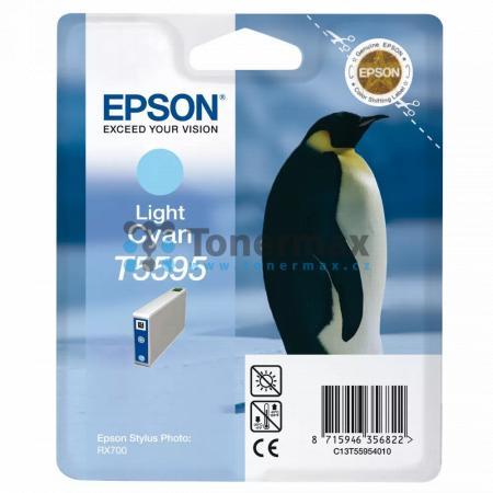 Epson T5595, C13T55954010, originální cartridge pro tiskárny Epson Stylus Photo RX700
