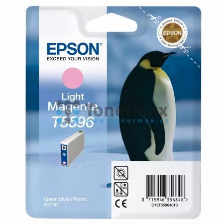 Epson T5596, C13T55964010, originální cartridge pro tiskárny Epson Stylus Photo RX700