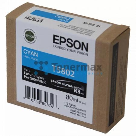 Epson T5802, C13T580200, originální cartridge pro tiskárny Epson Stylus Pro 3800, Stylus Pro 3880