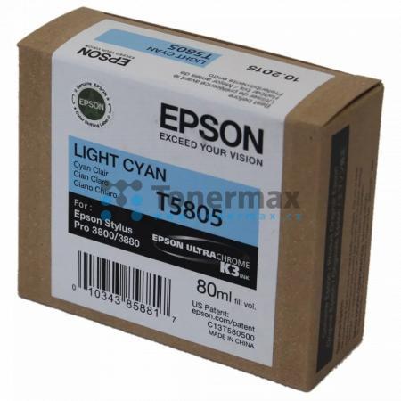 Epson T5805, C13T580500, originální cartridge pro tiskárny Epson Stylus Pro 3800, Stylus Pro 3880