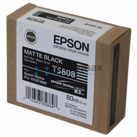 Epson T5808, C13T580800, originální cartridge pro tiskárny Epson Stylus Pro 3800, Stylus Pro 3880