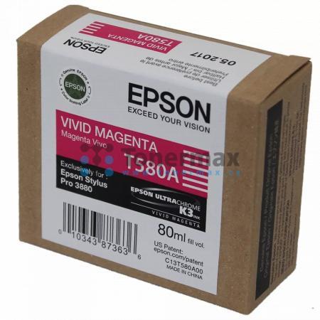 Epson T580A, C13T580A00, originální cartridge pro tiskárny Epson Stylus Pro 3880