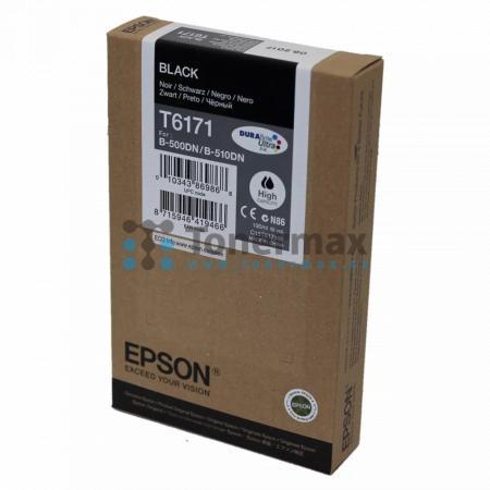 Epson T6171, C13T617100, originální cartridge pro tiskárny Epson B-500DN, B-510DN