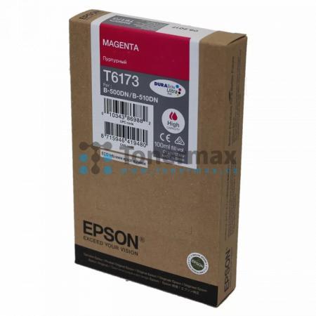 Epson T6173, C13T617300, originální cartridge pro tiskárny Epson B-500DN, B-510DN