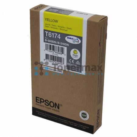 Epson T6174, C13T617400, originální cartridge pro tiskárny Epson B-500DN, B-510DN