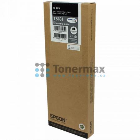 Epson T6181, C13T618100, originální cartridge pro tiskárny Epson B-500DN, B-510DN