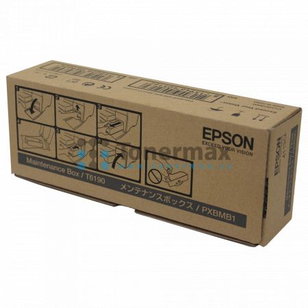 Epson T6190, C13T619000, odpadní nádobka, originální pro tiskárny Epson B-300, B-310N, B-500DN, B-510DN