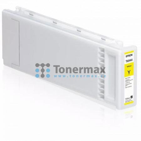 Epson T6944, C13T694400, originální cartridge pro tiskárny Epson SureColor T3000, SureColor T3000 POS, SureColor T3000 w/o stand, SureColor T3200, SureColor T3200 w/o stand, SureColor T3200-PS, SureColor T5000, SureColor T5000 POS, SureColor T5200, SureCo