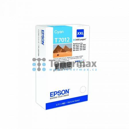 Epson T7012, C13T70124010, originální cartridge pro tiskárny Epson WP-4015, WorkForce Pro WP-4015, WP-4015DN, WorkForce Pro WP-4015DN, WP-4025, WorkForce Pro WP-4025, WP-4025DW, WorkForce Pro WP-4025DW, WP-4095, WorkForce Pro WP-4095, WP-4095DN, WorkForce