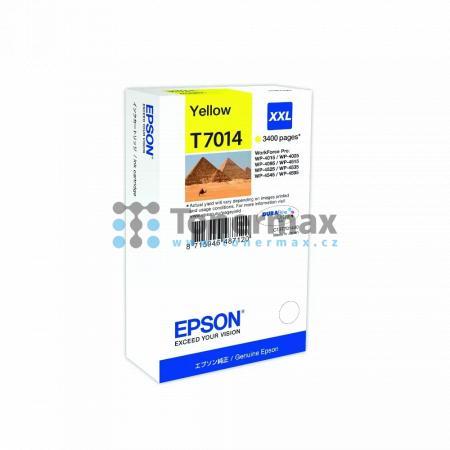 Epson T7014, C13T70144010, originální cartridge pro tiskárny Epson WP-4015, WorkForce Pro WP-4015, WP-4015DN, WorkForce Pro WP-4015DN, WP-4025, WorkForce Pro WP-4025, WP-4025DW, WorkForce Pro WP-4025DW, WP-4095, WorkForce Pro WP-4095, WP-4095DN, WorkForce
