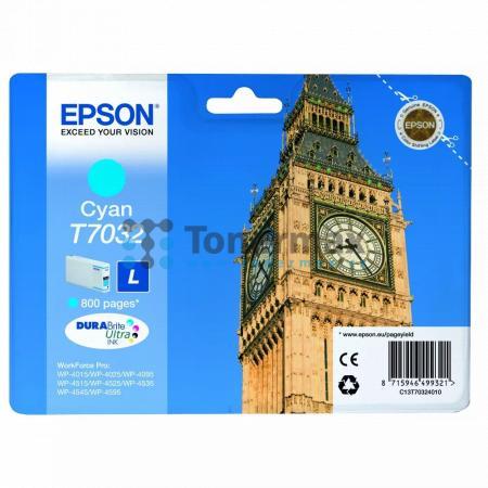 Epson T7032, C13T70324010, originální cartridge pro tiskárny Epson WP-4015, WorkForce Pro WP-4015, WP-4015DN, WorkForce Pro WP-4015DN, WP-4025, WorkForce Pro WP-4025, WP-4025DW, WorkForce Pro WP-4025DW, WP-4095, WorkForce Pro WP-4095, WP-4095DN, WorkForce