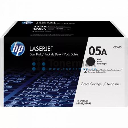 HP 05A, HP CE505D, dvoubalení, originální toner pro tiskárny HP LaserJet P2035, LaserJet P2035n, LaserJet P2055, LaserJet P2055d, LaserJet P2055dn, LaserJet P2055x