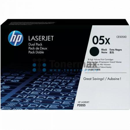 HP 05X, HP CE505XD, dvoubalení, originální toner pro tiskárny HP LaserJet P2055, LaserJet P2055d, LaserJet P2055dn, LaserJet P2055x