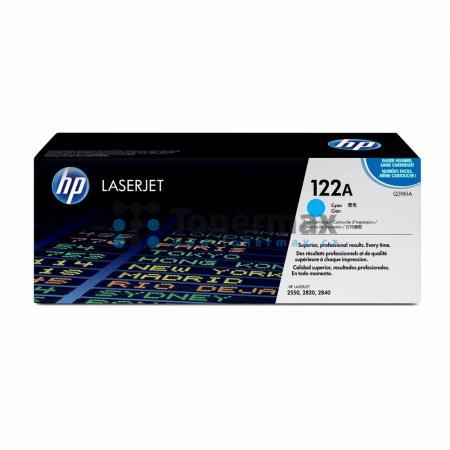 HP 122A, HP Q3961A, originální toner pro tiskárny HP Color LaserJet 2550, Color LaserJet 2550L, Color LaserJet 2550Ln, Color LaserJet 2550n, Color LaserJet 2820, Color LaserJet 2830, Color LaserJet 2840