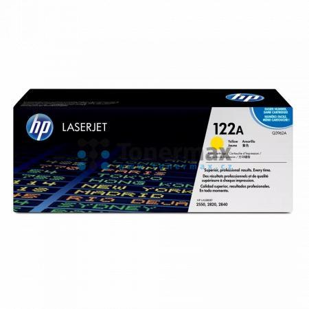 HP 122A, HP Q3962A, originální toner pro tiskárny HP Color LaserJet 2550, Color LaserJet 2550L, Color LaserJet 2550Ln, Color LaserJet 2550n, Color LaserJet 2820, Color LaserJet 2830, Color LaserJet 2840