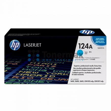 HP 124A, HP Q6001A, originální toner pro tiskárny HP Color LaserJet 1600, Color LaserJet 2600n, Color LaserJet 2605, Color LaserJet 2605dn, Color LaserJet 2605dn xi, Color LaserJet 2605dtn, Color LaserJet CM1015 MFP, Color LaserJet CM1015, Color LaserJet
