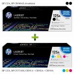 HP 125A, HP CF373AM + HP CB540AD