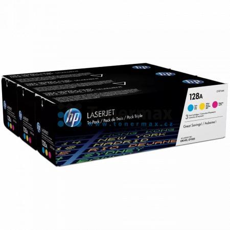 HP 128A, HP CF371AM, originální toner pro tiskárny HP LaserJet CP1525n color, LaserJet Pro CP1525n, LaserJet CP1525nw color, LaserJet Pro CP1525nw, LaserJet Pro CM1415 Color MFP, LaserJet Pro CM1415, LaserJet Pro CM1415fn Color MFP, LaserJet Pro CM1415fn,