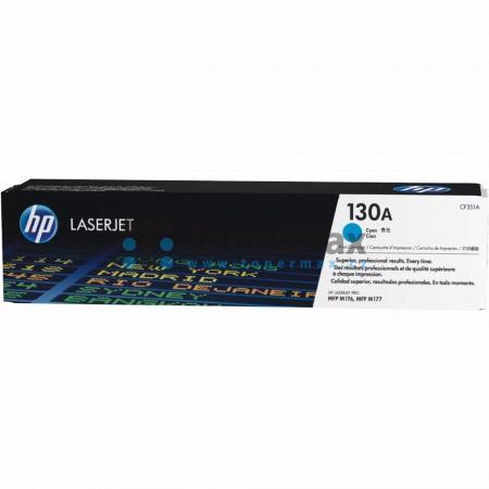 HP 130A, HP CF351A, originální toner pro tiskárny HP Color LaserJet Pro MFP M176n, Color LaserJet Pro MFP M177fw, Color LaserJet Pro M177fw