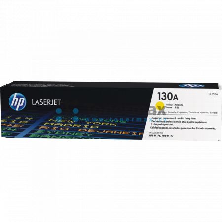 HP 130A, HP CF352A, originální toner pro tiskárny HP Color LaserJet Pro MFP M176n, Color LaserJet Pro MFP M177fw, Color LaserJet Pro M177fw
