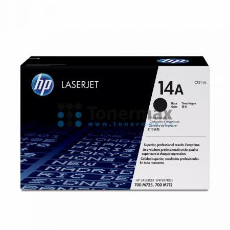 HP 14A, HP CF214A, originální toner pro tiskárny HP LaserJet 700 M712, LaserJet Enterprise 700 M712, LaserJet Enterprise 700 M712dn, LaserJet Enterprise 700 M712n, LaserJet Enterprise 700 M712xh, LaserJet Enterprise MFP M725, LaserJet Enterprise MFP M725d