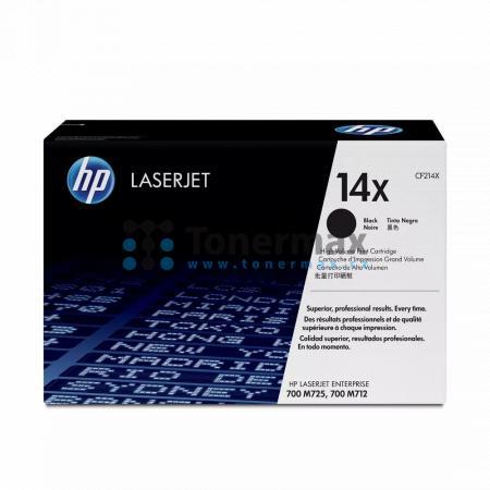 HP 14X, HP CF214X, originální toner pro tiskárny HP LaserJet 700 M712, LaserJet Enterprise 700 M712, LaserJet Enterprise 700 M712dn, LaserJet Enterprise 700 M712n, LaserJet Enterprise 700 M712xh, LaserJet Enterprise MFP M725, LaserJet Enterprise MFP M725d