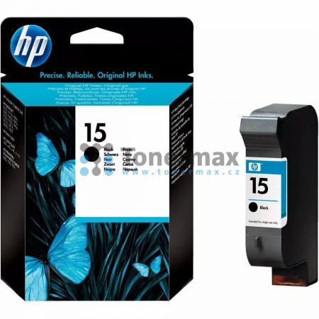 HP 15, HP C6615NE, originální cartridge pro tiskárny HP Color Copier 310, Deskjet 810c, Deskjet 812c, Deskjet 816, Deskjet 816c, Deskjet 825c, Deskjet 825cse, Deskjet 825cvr, Deskjet 825cxi, Deskjet 827, Deskjet 840c, Deskjet 841c, Deskjet 842c, Deskjet 8