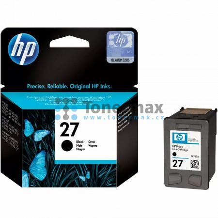HP 27, HP C8727AE, originální cartridge pro tiskárny HP Deskjet 3320, Deskjet 3323, Deskjet 3325, Deskjet 3420, Deskjet 3420v, Deskjet 3425, Deskjet 3450, Deskjet 3520, Deskjet 3520v, Deskjet 3520w, Deskjet 3535, Deskjet 3550, Deskjet 3550v, Deskjet 3550w