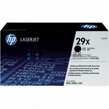HP 29X, HP C4129X, originální toner pro tiskárny HP LaserJet 5000, LaserJet 5000Le, LaserJet 5000dn, LaserJet 5000gn, LaserJet 5000n, LaserJet 5100, LaserJet 5100Le, LaserJet 5100dtn, LaserJet 5100se, LaserJet 5100tn